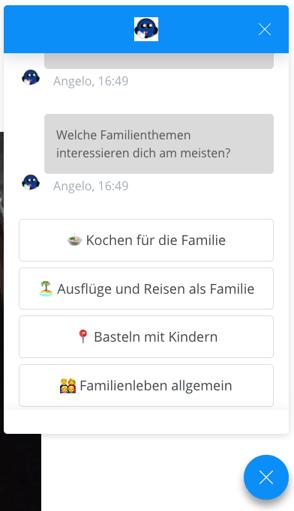 Chatbot Die Angelones