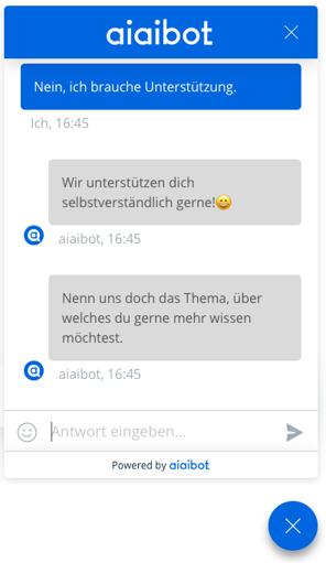 Chatbot von aiaibot