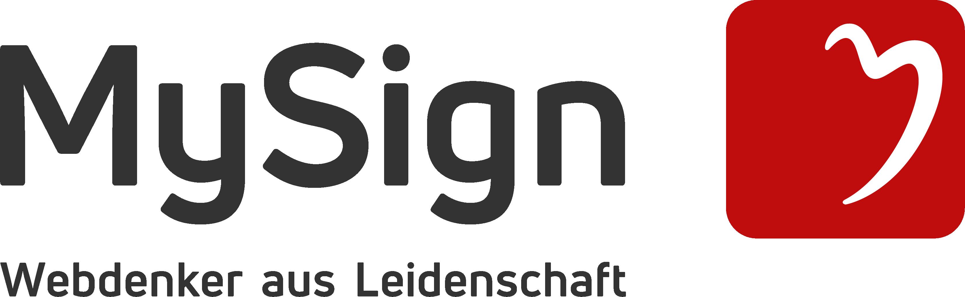 MySign AG logo